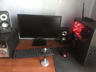 8 компьютеров в Кыргызстан: Продам свой собственный игровой компьютер. Покупал в enter,kg пол года