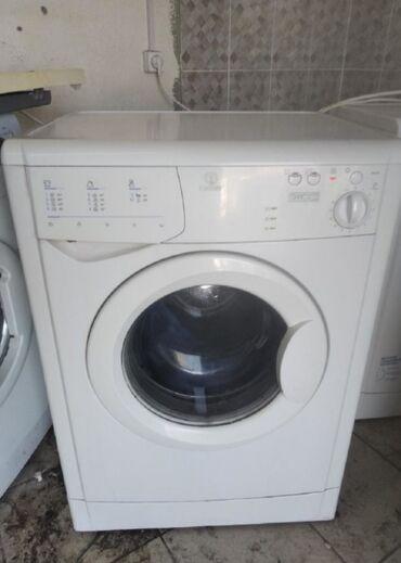стирать подушку в стиральной в Кыргызстан: Фронтальная Автоматическая Стиральная Машина Indesit 5 кг