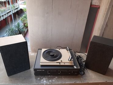 Gramofon - Srbija: Gramofon sa zvucnicima