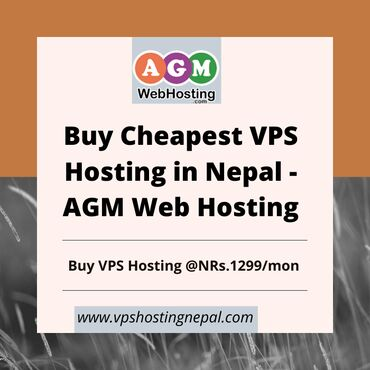 Buy Cheapest VPS Hosting in Nepal - AGM Web Hosting:  Buy Cheapest VPS