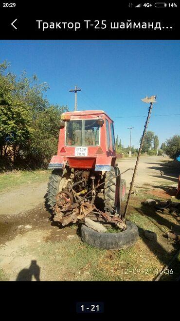 Трактор Т-25 шаймандары менее сатылат ага качилка, даары сепкич, мала