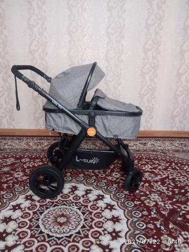 Детский мир - Ала-Тоо: Продаю коляску состояние отличное пользовались 1месяц использовали