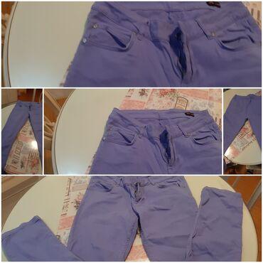 Pantalone uske - Srbija: Bukvalno kao nove. oviesse pantalon lavanda. tasve mere stojim Vam