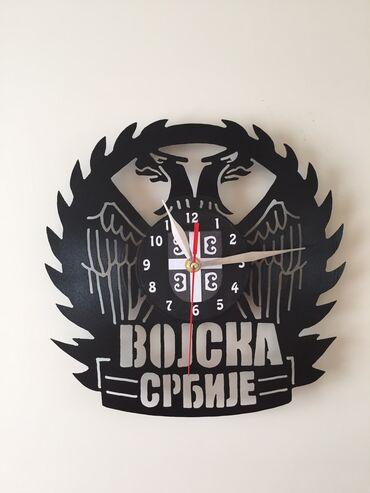 Kuća i bašta   Varvarin: Sat od gramofonske ploce !!!Ulepsajte Vas dom,lokal,poslovni prostor