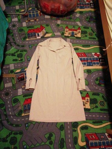 Duga košulja vel m moze kao mantil ili sa par dugmića haljina - Beograd