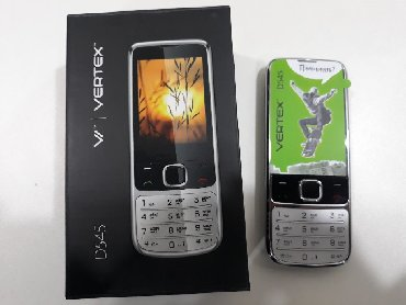 телефон флай кнопочный на 2 симки в Азербайджан: Yeni vertex telefon 2 nomre duos