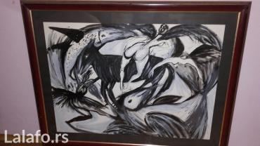 Kod 95 - Srbija: Prodajem umetnicku sliku. Format:95\85
