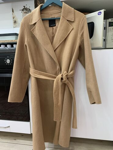 Пальто цвета Кэмел, модное, подклад, материал кашемир шерсть, теплое