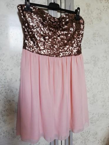 Amisu korset haljina. Prelepa je uzivo. Jednom nošena na svadbi. Bez - Pancevo