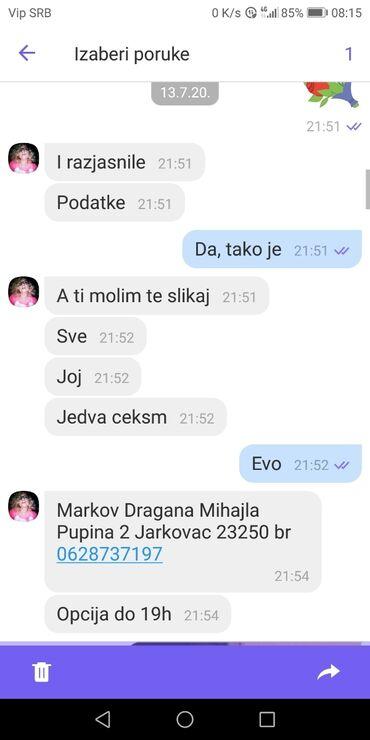 Haljine | Jagodina: PAŽNJA, PREVARANT!!!NIJE preuzela paket, vratio se sa duplom