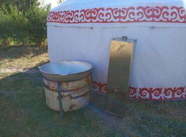 Эки этаж уй - Кыргызстан: Боз уй арендага берилет 120 литрлик эки казан 80 литрлик титан