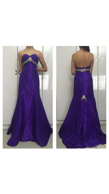 Вечернее новое платье обшитое камнями,очень красивое!размер s-m в Бишкек