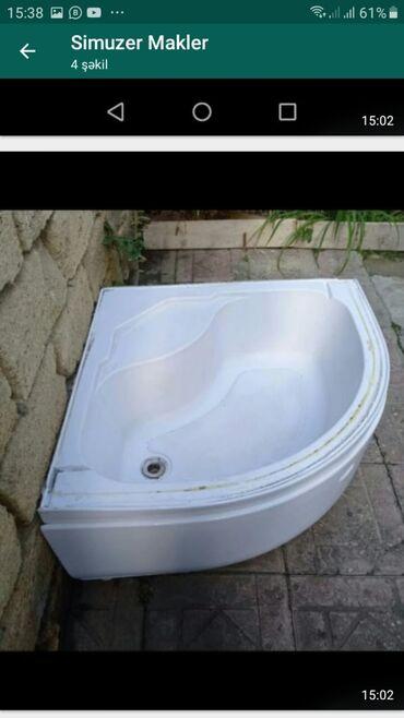 вытяжка для ванны в Азербайджан: Vanna 60 azn olcusu Vannanin olculeri arxasi ve sol terefi