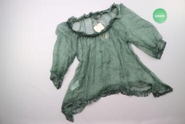 Жіноча шовкова блуза з паєтками Motel, p. M    Довжина: 55 см Рукав: 4