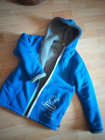 Dečija odeća i obuća - Vranje: Decija dux jakna sva oblozena krznom iznutra i rukavi predobra i