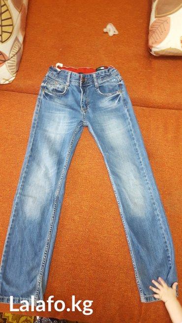 джинсики б. у в отличном состоянии 7-12лет на мальчика в Лебединовка
