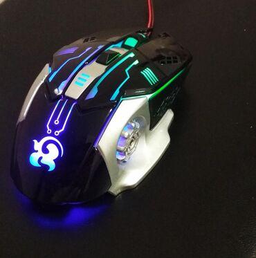 триггеры для игр в Кыргызстан: Игровая мышь : 6D iron bottom game mouse X35Встроенная 4-х уровневая