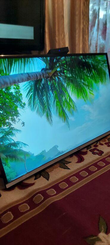 ТВ и видео - Кыргызстан: Продаю телевизор 49дюйм 124см,встроенный цифровой ресивер,есть