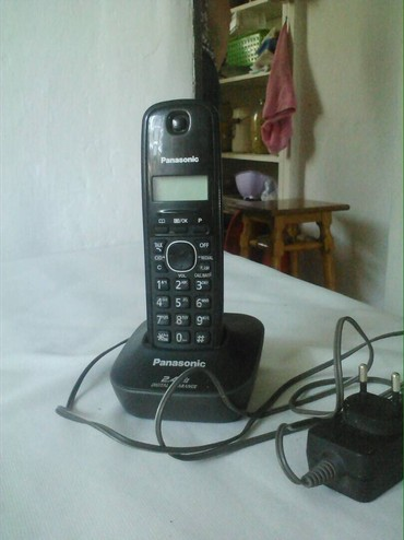 Телефон - Кыргызстан: Продаю Радиотелефон Panasonic  Аппарат Новый!!! По всем вопросам звони