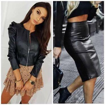Kozne jakne - Srbija: Eko koza pantalone,suknja, jakna Vise modela