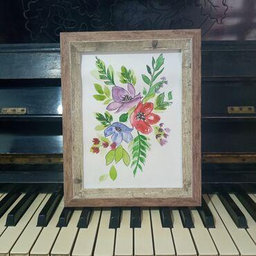 """Картина """"Красивые цветы """"Картина подарок для души!Самый креативный и"""