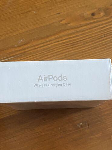 наушники сяоми в Кыргызстан: Продаю оригинальные airpods 2 с поддержкой беспроводной зарядки, новые