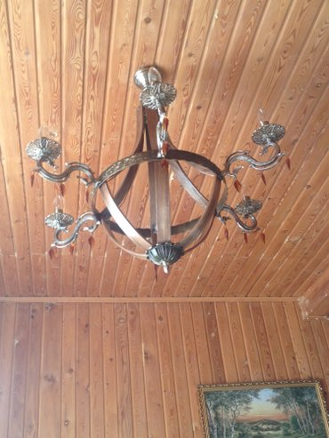 Qusar şəhərində Люстра с 5,6,7,8,10,12 и 16 свечами по заказу с элементами ковки и нат