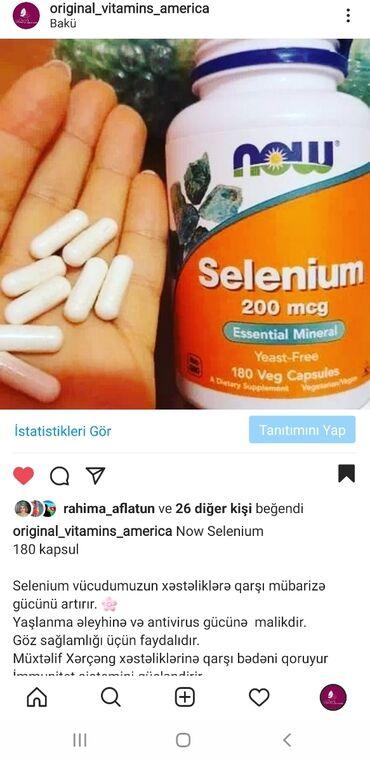 Now Selenium 200mcg180 kapsulSelenium vücudumuzun xəstəliklərə qarşı