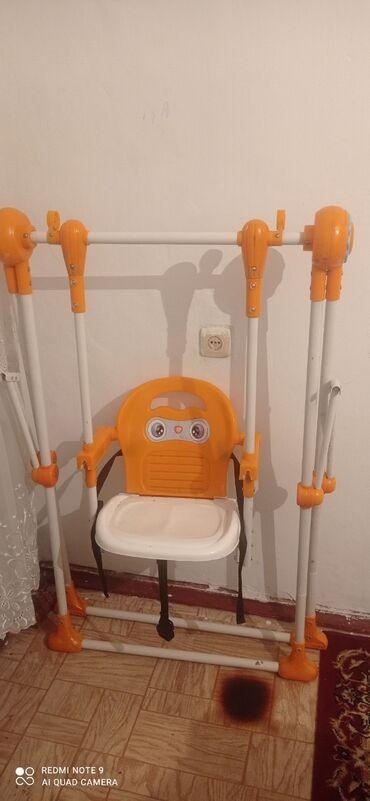 Детский мир - Ош: Качелястол для кормления,машина,велосипед