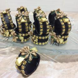Kuća i bašta | Paracin: Prstenovi za salvete u boji po zelji.Komad 35din.Prsten za svecu 200di