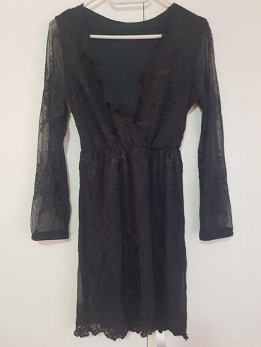 Teget haljina turska, obucena jednom, velicina S-M,Moze licno - Belgrade