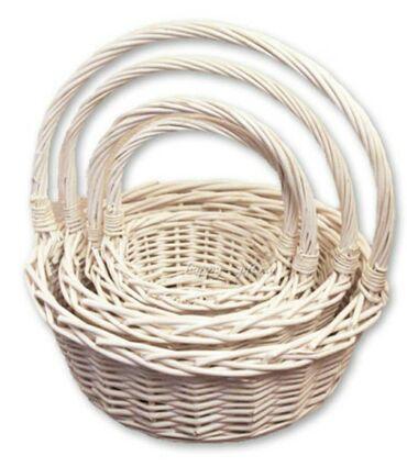Корзины (круглые, овальные) для подарков и цветов. Для заказа и