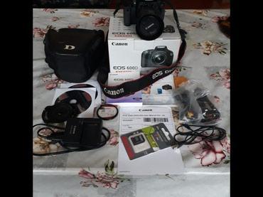 Продаю Canon EOS 600D в отличном состоянии. в Бишкек