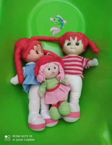 Куклы + сумочка для девочки (новая)