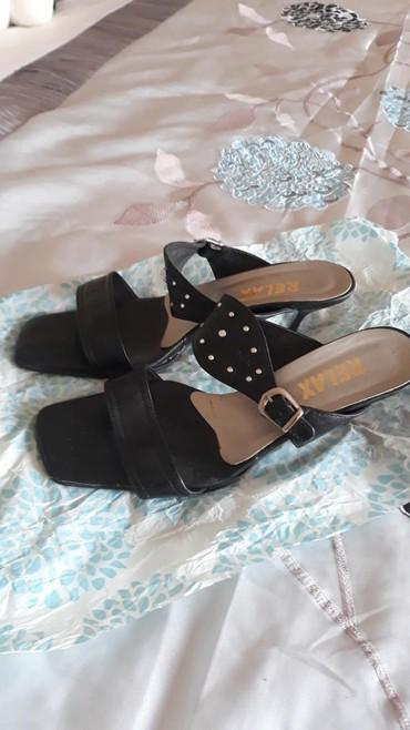 Ostalo | Varvarin: Papuce crne velicina 40