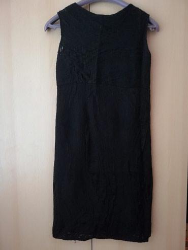 """Haljine - Lajkovac: Crna zenska haljina, par puta nosena Na mestima je """"supljikava"""""""