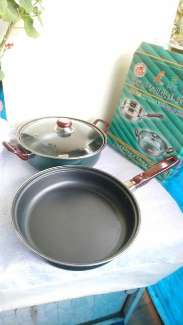 набор форс 94 предмета в Кыргызстан: Кастрюля и сковорода новые С антипригарным покрытием, Набор из 2 предм
