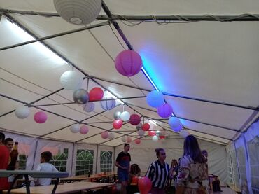 Svadbeni Pribor - Srbija: 060- Sale AleksandarIznajmljujemo prelepe bele, NOVE paviljon šatore