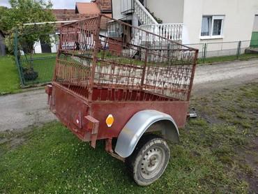 Auto prikolice - Srbija: Auto prikolica, registrovana do decembra 2019., nosivost 400kg