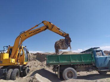 Дом и сад в Ак-Джол: Песок доставка Зил 8 тонн