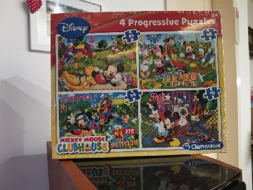 Puzzle - Srbija: NOVE. Clementoni Mickey Puzzles. Za 4+