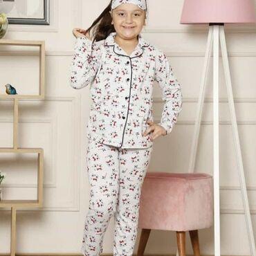 pijama - Azərbaycan: Ushaq pijama desti 100% pambiq.18 azn