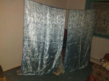 Личные вещи - Красная Речка: Продам шторы, в нормальном состоянии. 4 штуки, 1 штука 50 сом. ширина