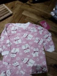 Dečija odeća i obuća - Irig: Nove pidzame pamucne tople za zimu svi brojevi