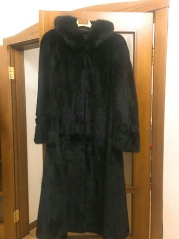zhenskoe plate 52 razmer в Кыргызстан: Шуба норковая,цвет черный,размер 52-54 .Состояние новая!