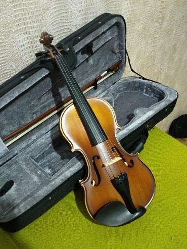 Продаю скрипку в отличном состоянии, использовалось только месяц в Бишкек