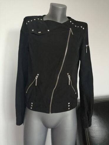 Preko grudi - Srbija: Jaknica TALLY WEIJL 36/38 999dinPrelepa moderna jaknica sa nitnama