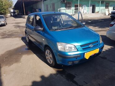 продажа hyundai getz in Кыргызстан   АВТОЗАПЧАСТИ: Hyundai Getz 1.4 л. 2003   287000 км