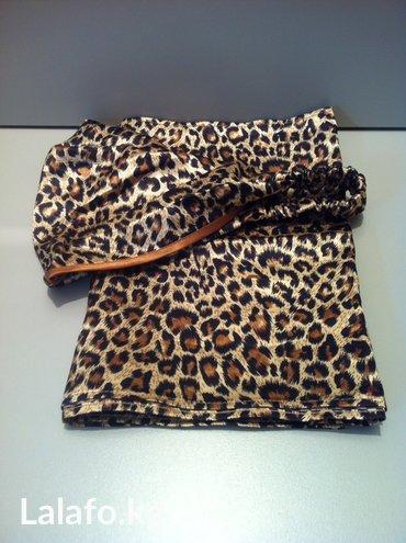 украшение шарфик в Кыргызстан: Комплект косынка и шарфик, новый. Ткань атлас, синтетика. Срочная цена