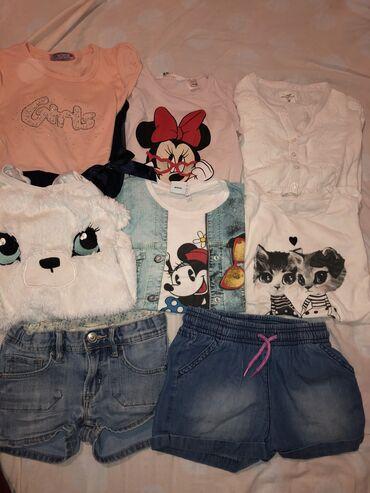 Dečija odeća i obuća | Tutin: 110/116 paket stvari od 8 stvari za 1200 din